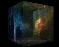 space cube image